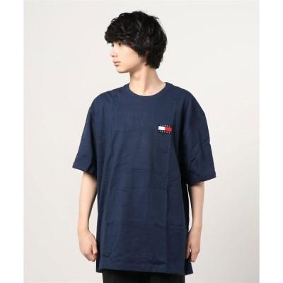 tシャツ Tシャツ 【TOMMY HILFGER】トミー ヒルフィガー ロゴ フラッグ Tシャツ
