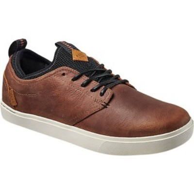 リーフ メンズ スニーカー シューズ Discovery LE Sneaker (Men's) Brown Full Grain Leather