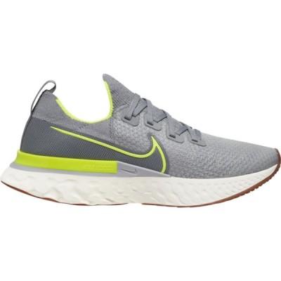 ナイキ Nike メンズ ランニング・ウォーキング シューズ・靴 React Infinity Run Flyknit Particle Grey/Volt/Wolf Grey/Sail