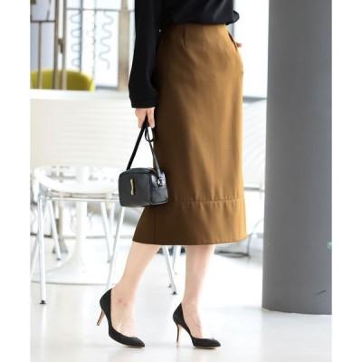スカート Demi-Luxe BEAMS / ドライギャバジン タイトスカート