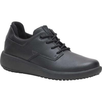 キャピタラー カジュアル Caterpillar レディース ローファー・オックスフォード シューズ・靴 ProRush Sr+ Work Oxford Black Waterproof Leather