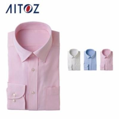 AZ-43069 アイトス 長袖カッターシャツ | 作業着 作業服 オフィス ユニフォーム メンズ レディース