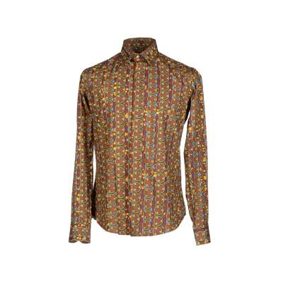STELLA JEAN シャツ ブラウン 40 コットン 100% シャツ