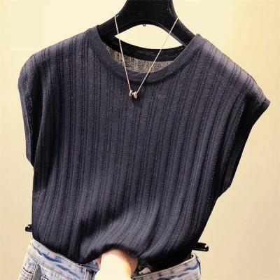 レディースTシャツインナートップスTシャツカジュアル無地30代40代50代