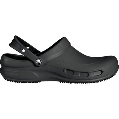 クロックス サンダル シューズ メンズ Crocs Adult Bistro Clogs Black