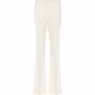 ガブリエラ ハースト Gabriela Hearst レディース ボトムス・パンツ thompson stretch-wool flared pants White