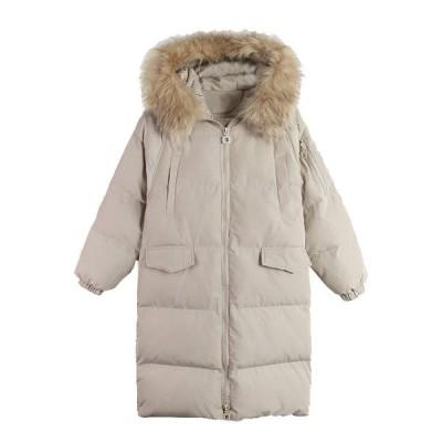 送料無料 中綿コート ロング 大きいサイズ オーバーサイズ ゆったり ラグラン袖 フェイクファー フード付き レディース 冬 アウター ベンチコート ボリューム