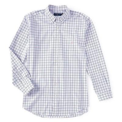 ラルフローレン メンズ シャツ トップス Big & Tall Multi-Color Plaid Poplin Natural Stretch Long-Sleeve Woven Shirt