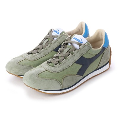 ディアドラ Diadora equipe h canvas stone wash (green oil)