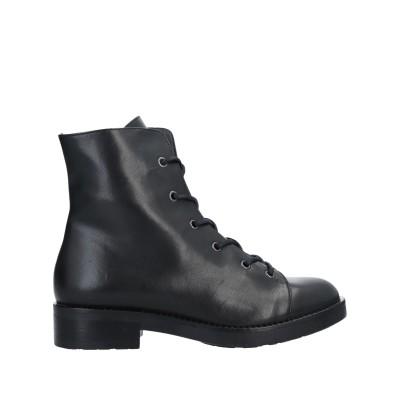 LORETTA PETTINARI ショートブーツ ブラック 35 革 ショートブーツ