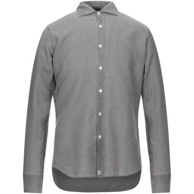 SONRISA シャツ グレー 40 リネン 55% / コットン 45% シャツ