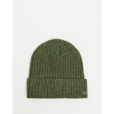 コロンビア メンズ 帽子 アクセサリー Columbia Watch cap beanie in green Green