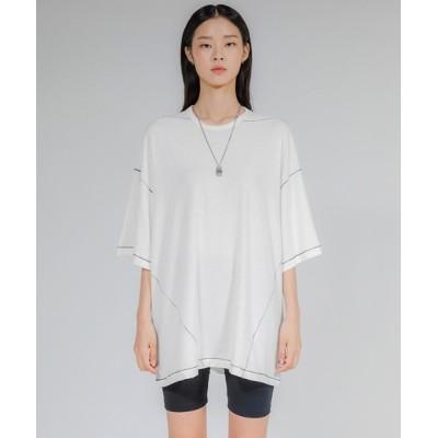 tシャツ Tシャツ 【FLAREUP 】シルキー半袖ティーシャツ / Silky Short sleeve (FL-156)