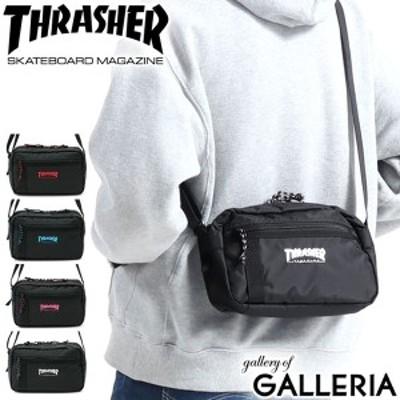 【商品レビューで+5%】スラッシャー ショルダーバッグ THRASHER ミニショルダー 小さめ 高校生 メンズ レディース THR-141