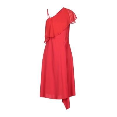 ジャッカ JUCCA 7分丈ワンピース・ドレス レッド 40 レーヨン 95% / ポリウレタン 5% 7分丈ワンピース・ドレス