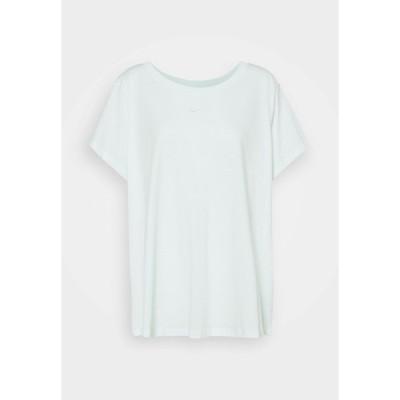 ナイキ Tシャツ レディース トップス TEE PLUS - Basic T-shirt - barely green/white