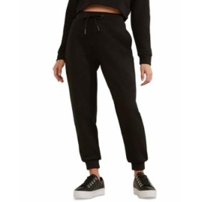 ゲス レディース カジュアルパンツ ボトムス Logo Drawstring Jogger Pants Black