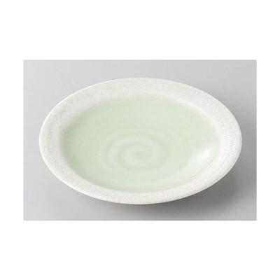 銘々皿 若葉4.0平皿 [12.8 x 2cm]  料亭 旅館 和食器 飲食店 業務用
