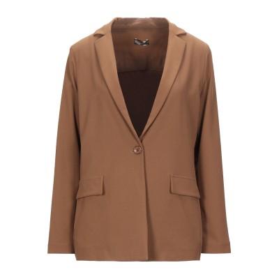 OLLA PARÉG テーラードジャケット キャメル 40 ポリエステル 95% / ポリウレタン 5% テーラードジャケット