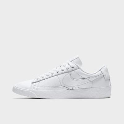 ナイキ レディース シューズ Nike Blazer Low LE スニーカー White/White/White