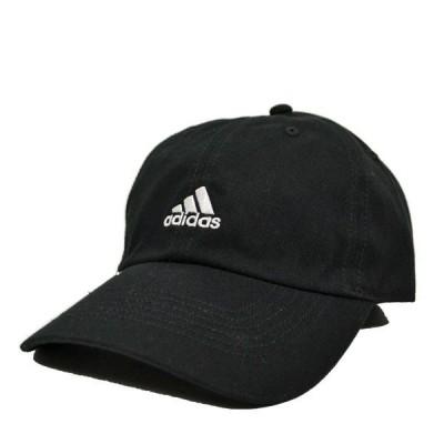 アディダスコットンツイルローキャップ 綿 浅め 洗える 年中 オールシーズン 野球帽 帽子