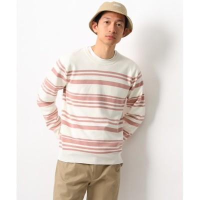 THE SHOP TK / ミラノリブボーダーカットソー MEN トップス > Tシャツ/カットソー