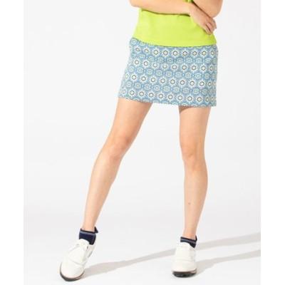【WOMEN】COOLMAXサッカーエスニックプリント スカート