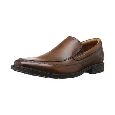 クラーク メンズ Tilden Free (New Color) スリップ-on Loafer, ダーク タン, 11 M US(海外取寄せ品)