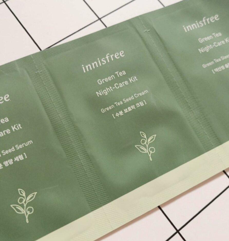 現貨-innisfree 綠茶系列三件旅行卡組小樣 [FIFI SHOP]