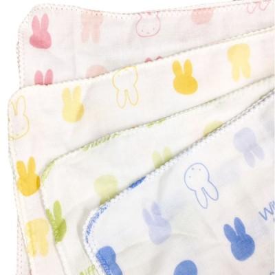 ベビー ガーゼ 4枚入 ウィズミッフィー 育児用品 ベビーケア用品 タオル・ガーゼ 赤ちゃん本舗(アカチャンホンポ)