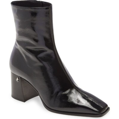 ジミー チュウ JIMMY CHOO レディース ブーツ スクエアトゥ シューズ・靴 Bryelle Square Toe Bootie Black
