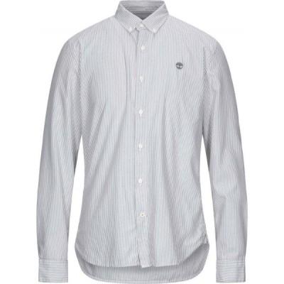 ティンバーランド TIMBERLAND メンズ シャツ トップス Striped Shirt Grey
