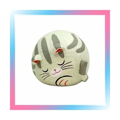 ちぎり和紙 すやすや親猫 サバ おみくじ招き猫特典付オリジナル