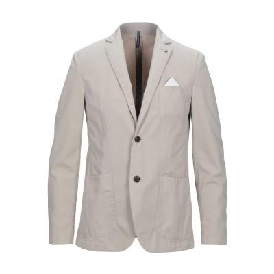 アティピコ AT.P.CO テーラードジャケット ライトグレー 46 コットン 100% テーラードジャケット