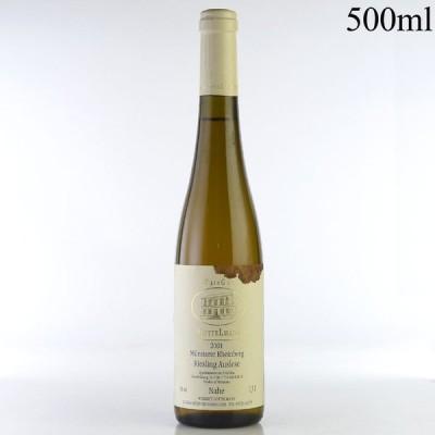 ゲッテルマン ミュンスターラー ラインベルク リースリング アウスレーゼ 2001 500ml 液漏れ ドイツ 白ワイン