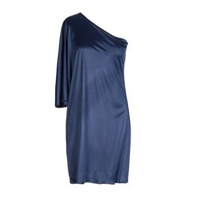 メルシー ..,MERCI ミニワンピース&ドレス ブルー 42 アセテート 65% / ナイロン 35% ミニワンピース&ドレス