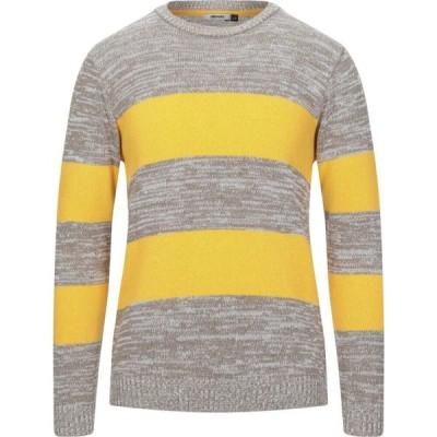 スティロソフィー インダストリー STILOSOPHY INDUSTRY メンズ ニット・セーター トップス sweater Yellow