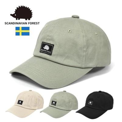 キャップ 帽子 メンズ おしゃれ/SCANDINAVIAN FOREST スカンジナビアン フォレスト/コットン ネーム ローキャップ