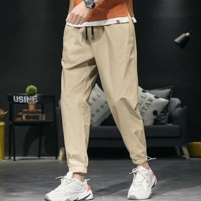ジョガーパンツ テーパードパンツ 運動部屋着カジュアルパンツ 束足パンツ 人気新作ロングパンツ メンズ  ボトムス カバー パンツ大きいサイズ ゆったり