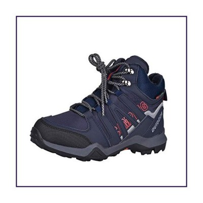 Bbrand Kids Hiking Shoes Outdoor Boots Comfortable Non-Slip Sneaker Snow Boots for Hiking, Running, Basketball, Climbing (Navy, Numeric_1_Po