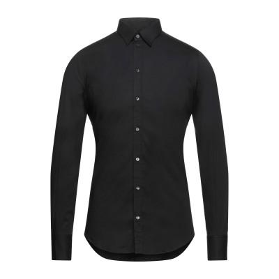 ドルチェ & ガッバーナ DOLCE & GABBANA シャツ ブラック 38 コットン 96% / ポリウレタン 4% シャツ