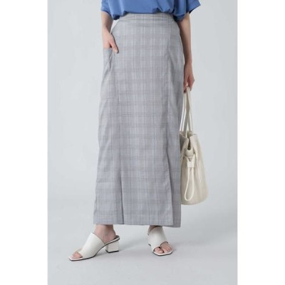 ROSE BUD / ローズ バッド タイトマキシスカート