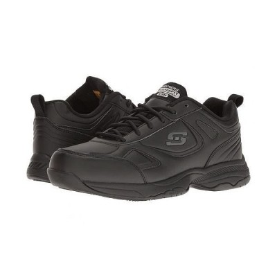 SKECHERS Work スケッチャーズ レディース 女性用 シューズ 靴 スニーカー 運動靴 Dighton - Bricelyn - Black Synthetic/Leather
