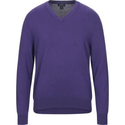 ブルックス ブラザーズ BROOKS BROTHERS メンズ ニット・セーター トップス sweater Purple