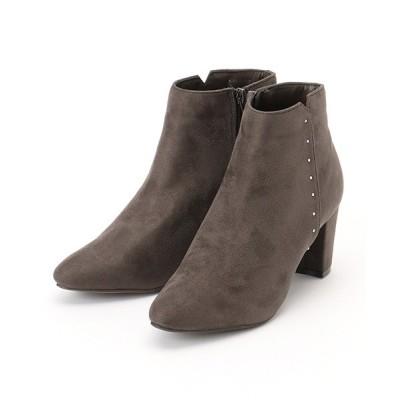 COMME CA ISM / 《フェイクスエード》 ショート アンクルブーツ WOMEN シューズ > ブーツ