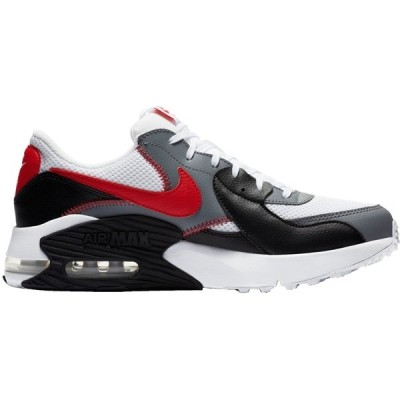 ナイキ スニーカー シューズ メンズ Nike Men's Air Max Excee Shoes White/UniversityRed/Blck