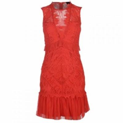 バルドー Bardot レディース ワンピース ワンピース・ドレス Francesca Dress FIRE RED