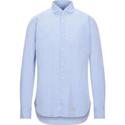 ティントリア マッティ TINTORIA MATTEI 954 メンズ シャツ トップス Solid Color Shirt Sky blue