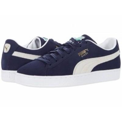 PUMA プーマ メンズ 男性用 シューズ 靴 スニーカー 運動靴 Suede Classic XXI Peacoat/Puma White【送料無料】