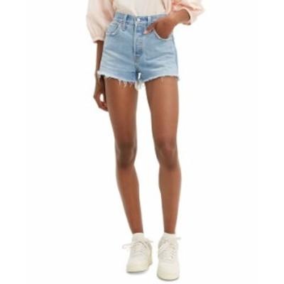 リーバイス レディース ハーフパンツ・ショーツ ボトムス Women's 501 Cotton High-Rise Denim Shorts Luxor Bake